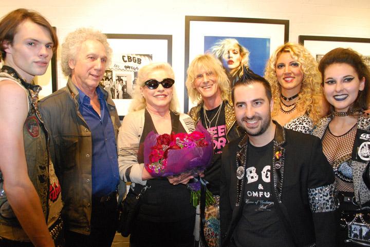 Blondie at CBGB exhibit at Morrison Hotel Gallery -- 5-17-18 (Photo by Bryan Reesman) (11)