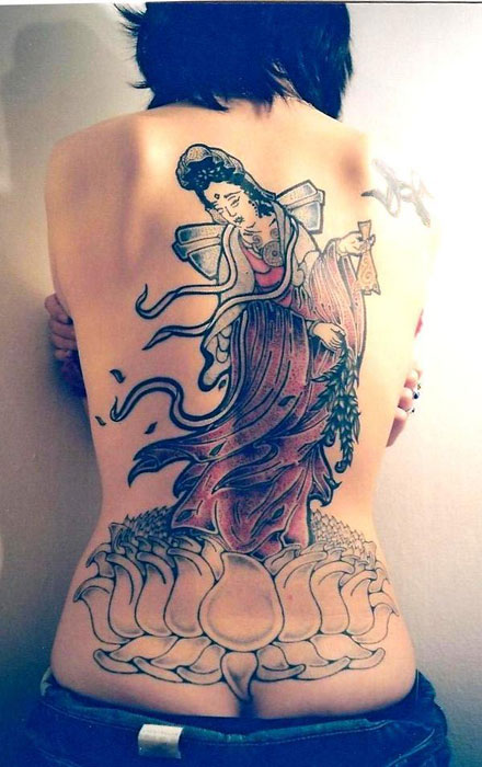 Geisha by Brett