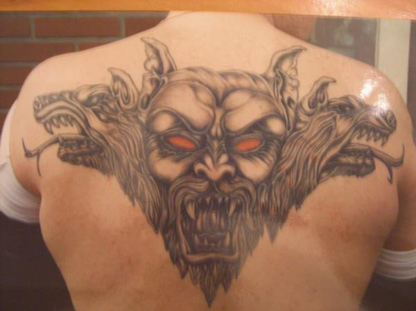 Demonic Back Piece (Big Brad)