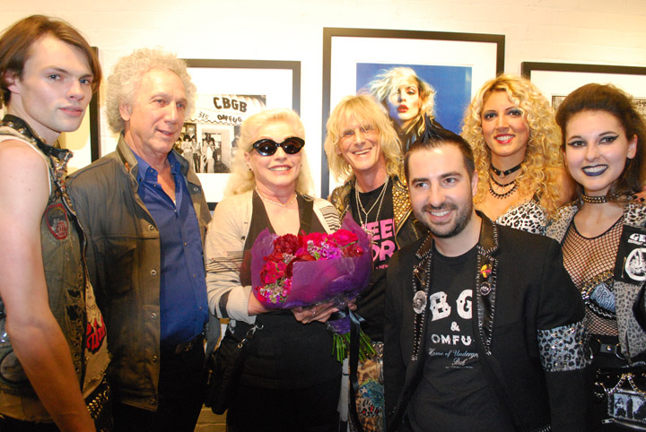 Blondie at CBGB exhibit at Morrison Hotel Gallery -- 5-17-18 (Photo by Bryan Reesman) (11)