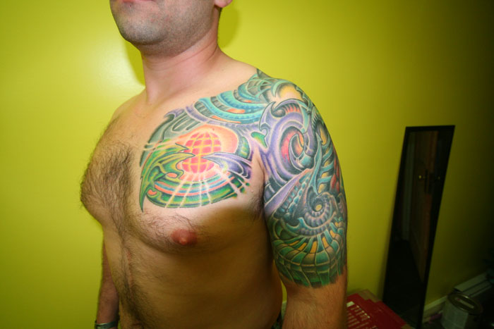Chest And Arm Piece (Keith Titus)