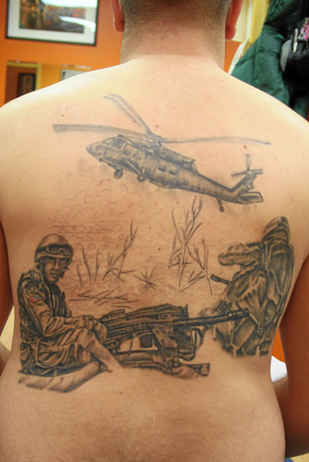War Back Piece (Keith Titus)